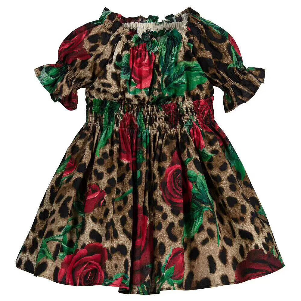 2019 newest brand Baby Girls Solid Dress For Party Dresses Kids Girls Princess Dress costume Children