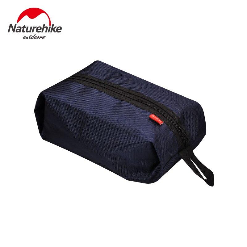 NatureHike Travel Wash Bag Men Portable Laundry Women Cosmetic Bag Make Up Set Waterproof Camping Travel Kit NH15A001-R