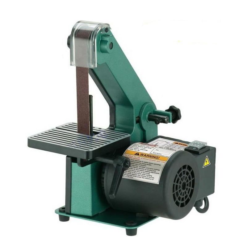 Belt Sander Sanding Machine Polisher 350W 220V Woodworking Metal Grinding Chamfering Machine Knife Grinder Motor