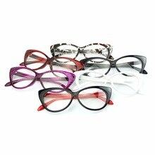 Sexy Retro Women Eyeglasses Frame Fashion Cat Eye Clear Lens ladies Eye Glasses