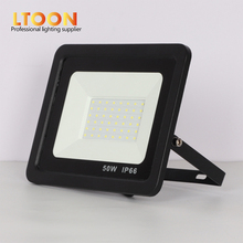 [LTOON]LED Floodlight 100W 50W 30W 20W 10W Ultra Thin Led Flood Light Spotlight Outdoor 220V IP66 Wall Lamp
