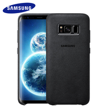 Samsung Galaxy S8 S 8 Plus Back Case Cover Original 360 Cute Leather Silicone Armor Luxury Shockproof S8Plus Cases Accessories