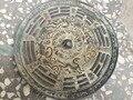 Китайское народное старинное бронзовое зеркало фэн шуй сплетни большое бронзовое зеркало