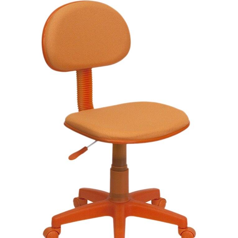 Flash мебель оранжевый ткань эргономичный стул [863-BT-698-ORANGE-GG]