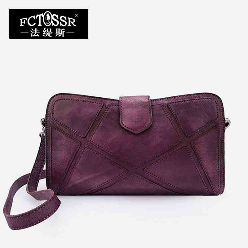 2018 Vintage Women Bags Genuine Leather Shoulder Bag Messenger Bag Day Clutch Handmade Cow Leather Bags yuanyu 2018 new hot free shipping real python leather women clutch women hand caught bag women bag long snake women day clutches