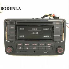 BODENLA Car Radio Stereo CD Player RCN210 MP3 USB SD AUX For VW Passat B6 Golf 5 6 Jetta MK5 MK6 Tiguan