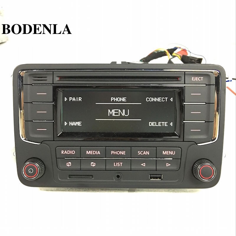 bodenla car radio stereo cd player rcn210 mp3 usb sd aux. Black Bedroom Furniture Sets. Home Design Ideas