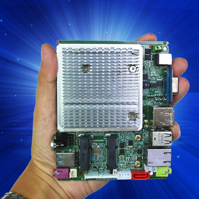 Onboard Bay Trail Celeron J1900 Quad-Core fanless industrial motherboard support Android&win8