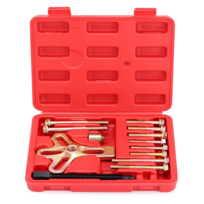 13 Pcs/set Puller Set Steering Wheel Removing Hand Tool High Quality Special Auto Repair Tools Carbon Steel M8 M10 Screw wlxy wl 1301 high peed steel drills set 13 pcs page 2