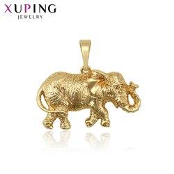 Xuping jasne złoto kolorowy platerowany klasyczny wisiorek biżuteria dla kobiet święto dziękczynienia prezenty 34284
