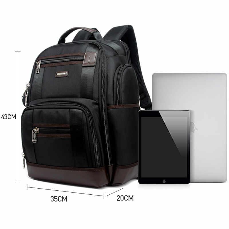 Amerykańska znana marka wiele kieszeni mężczyzn plecak o dużej pojemności weekendowy plecak podróżny biznes męska Super plecak torba męska