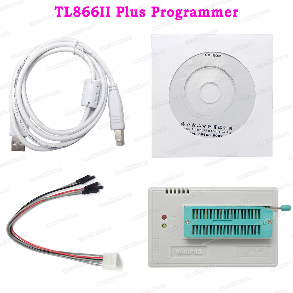 Minipro TL866II Plus Universal Programmer PIC AVR High Speed Better Than TL866CS TL866A EEPROM Programmer