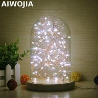 22cm USB Wood Desk Lamp Led Christmas Lights Indoor 3d Light Power Bank Luminaria Usb Led 3d Night Light