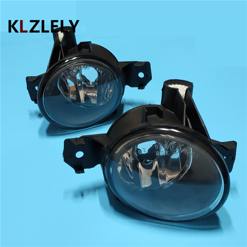For BMW E87 2003/04/05/06/07/08/09/10/11/12 car styling fog lights 1 SET FOG LAMPS fit for 04 05 06 07 08 bmw e60 5 series fog lights front lamps clear lens pair set usa domestic free shipping