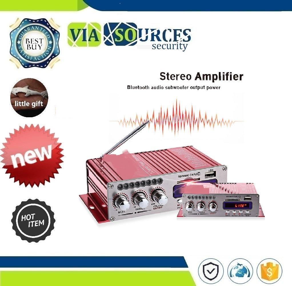 Fernbedienung Usb/sd Card Player Fm Radio Mit 2ch Bluetooth Hallo-fi Super Bass Ausgang Power Stereo Verstärker