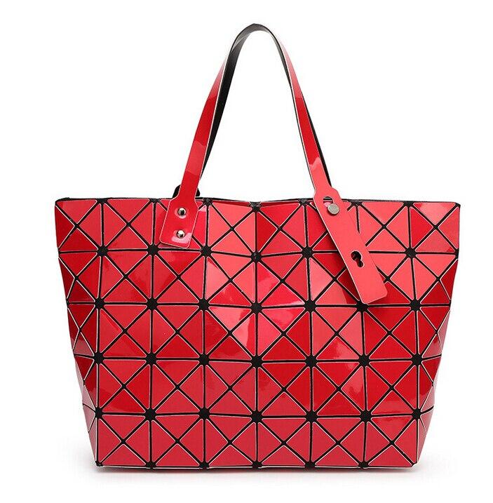 diamante malha bolsas geometria bolsa Modelo Número : J107955