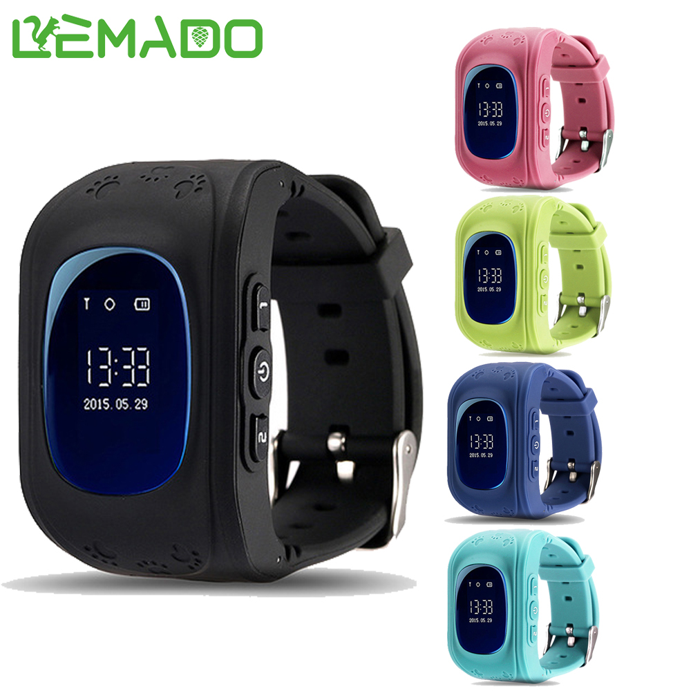 LEMADO Q50 Smart Kids Watch Safe GPS Anti Lost Wristwatch SOS Call Location Finder Locator Tracker for Child  PK Q90 wireless service call bell system popular in restaurant ce passed 433 92mhz full equipment watch pager 1 watch 7 call button