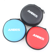 Portable ANBES Earphone Case Carrying Hard Storage Bag Box For Earphone Headphone Earbuds Earphone Accessories 3 Colors Avaiable