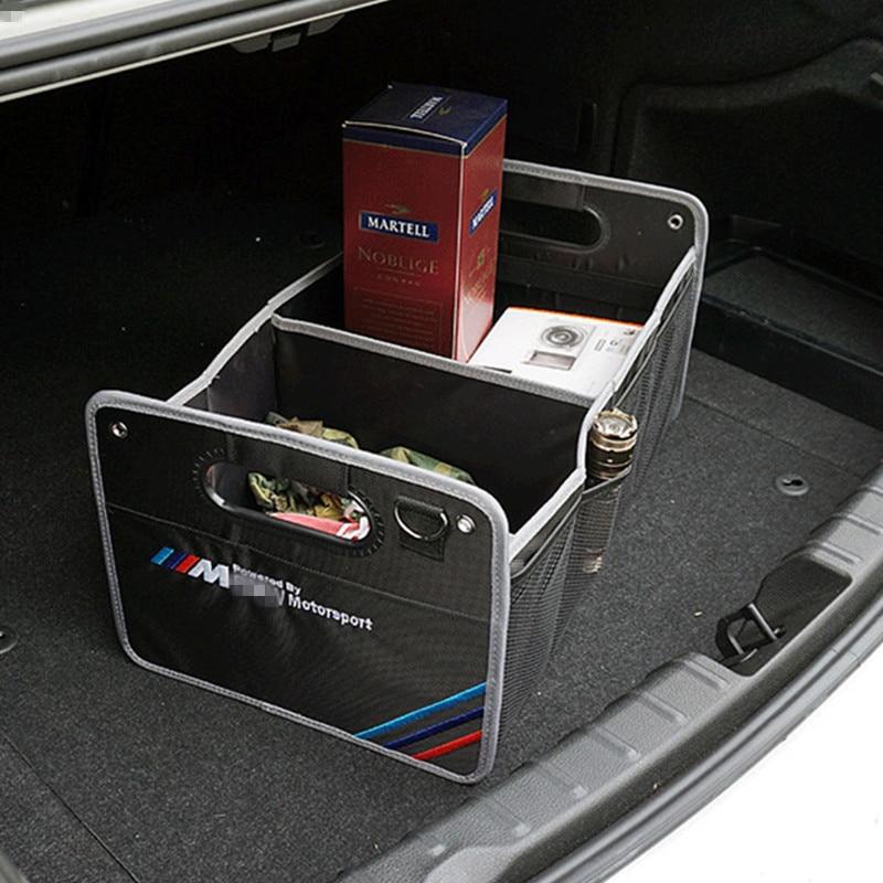 1X Pour BMW E30 E34 E46 G30 X5 E53 E70 E36 E87 E92 E39 F10 E90 F20 E60 F30 M accessoires intérieurs De Voiture Coffre Rangement Rangement