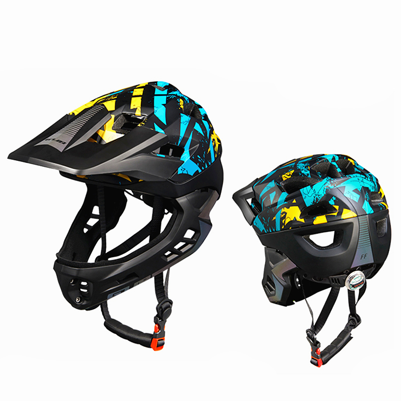 GUB FF Cycling kids Balance Bike Bicycle Full Covered Child Helmet EPS Parallel Children 406G Sport Safety Skating Helmets