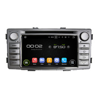 6 2 1 Din Android 6 0 Octa Core Car Multimedia Player For Toyota Hilux 2012