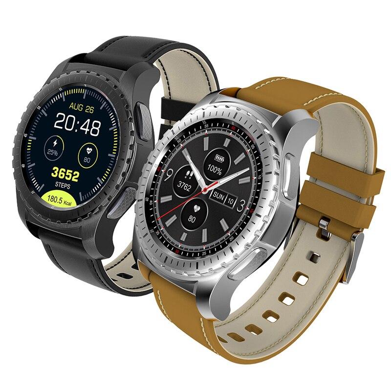 RUIJIE KW28 Bluetooth Smart Watch Men SmartWatch Fitness Tracker Heart Rate Clock Support SIM Card For