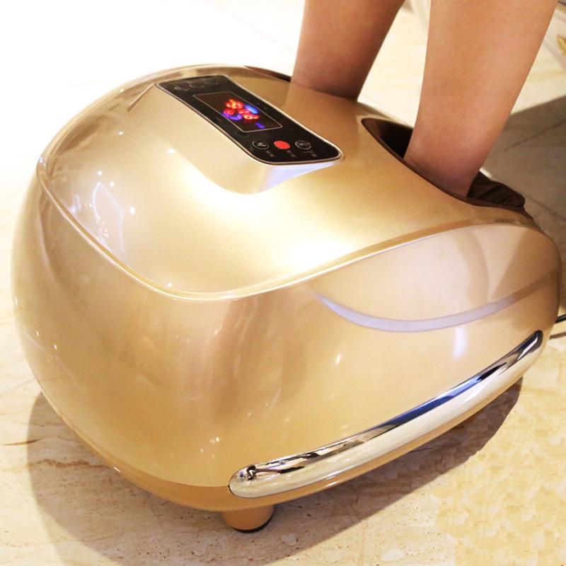 Foot Massage Relaxant Heating Therapy Reflexology 3D Foot Mas