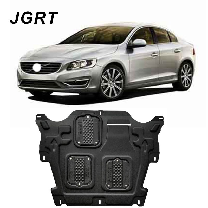 Car styling For Volvo S60 plastic steel engine guard For S60 2011 2017 Engine skid plate fender 1pc