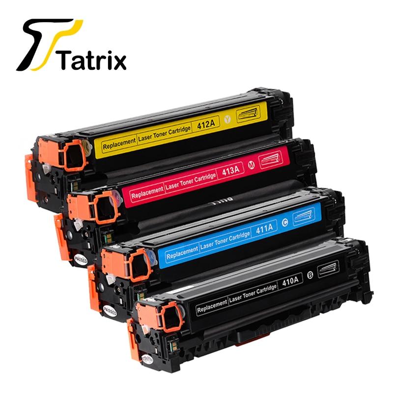 Pro toner HP 410 410A CE410A CE411A CE412A Tonerová kazeta CE413A 305A pro tiskárnu HP LaserJet Enterprise 300 barevná M351 / M375nw / M451nw / M451
