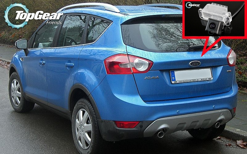 Car Camera For Ford Kuga MK1 2008~2012 High Quality Rear View Back Up Camera For Top Gear Friends to Use  RCA