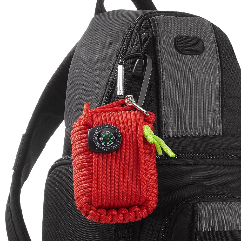 Outdoor Survival Equipment SOS Kit Paracord First Aid Box Supplies Field Self-help Box For Camping Travel Fishing Kit (6)