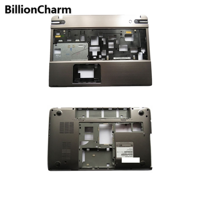BillionCharmn New Palmrest cover/Bottom Case For TOSHIBA P850 P855 Silver Laptop Bottom Base Case Cover