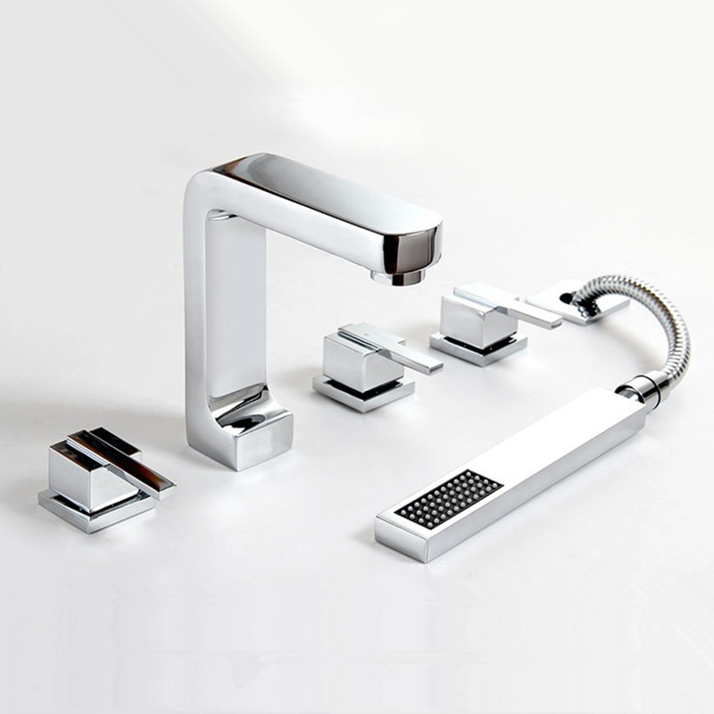 Bathroom Faucet Finishes 2017 popular roman bathrooms-buy cheap roman bathrooms lots from china