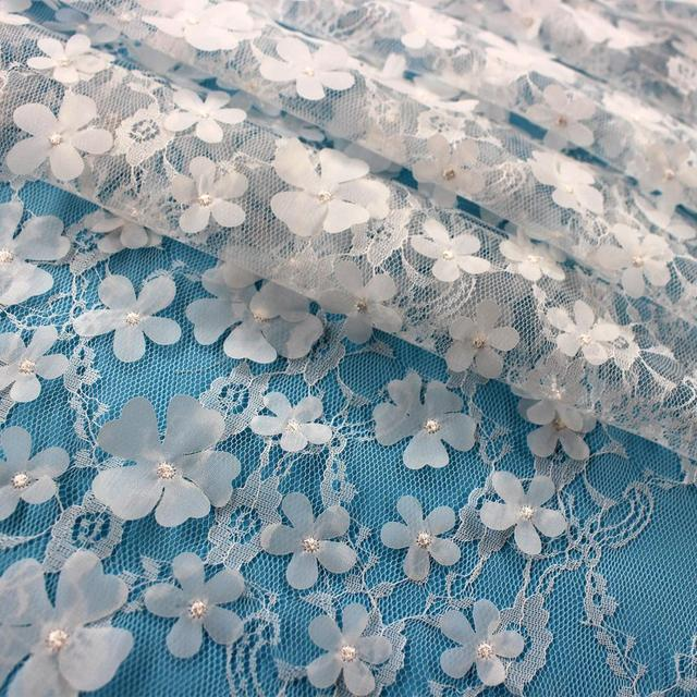 Aliexpress Buy White African Tulle Lace For Wedding Decoration