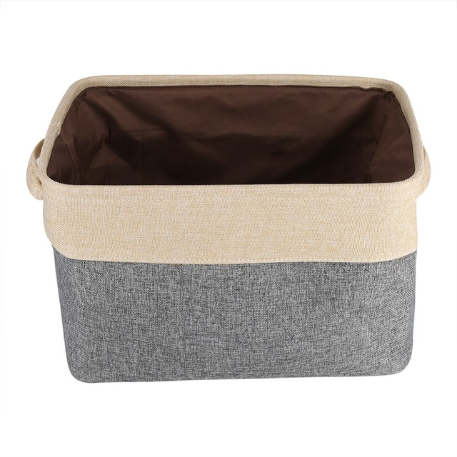 Foldable Fabric Storage Bin Washing Basket Toy Clothes Towel Laundry Box Container  Canvas Storage Opberg Mand