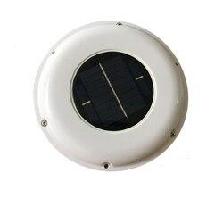 Wentylator słoneczny automatyczny wentylator używany do przyczep kempingowych zielony dom łazienka w Części do klimatyzatorów od AGD na