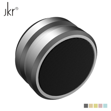 JKR-5 Metal Wireless Bluetooth Speaker Heavy Stereo Bass Speakers Smart Mini Subwoofer Support FM Radio TF Card AUX for iPhone