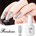 Frenshion Bling UV Gel Nail Polish UV LED Shining Colorful Vernis Semi Permanent 15ml Long lasting soak off Varnish Manicure