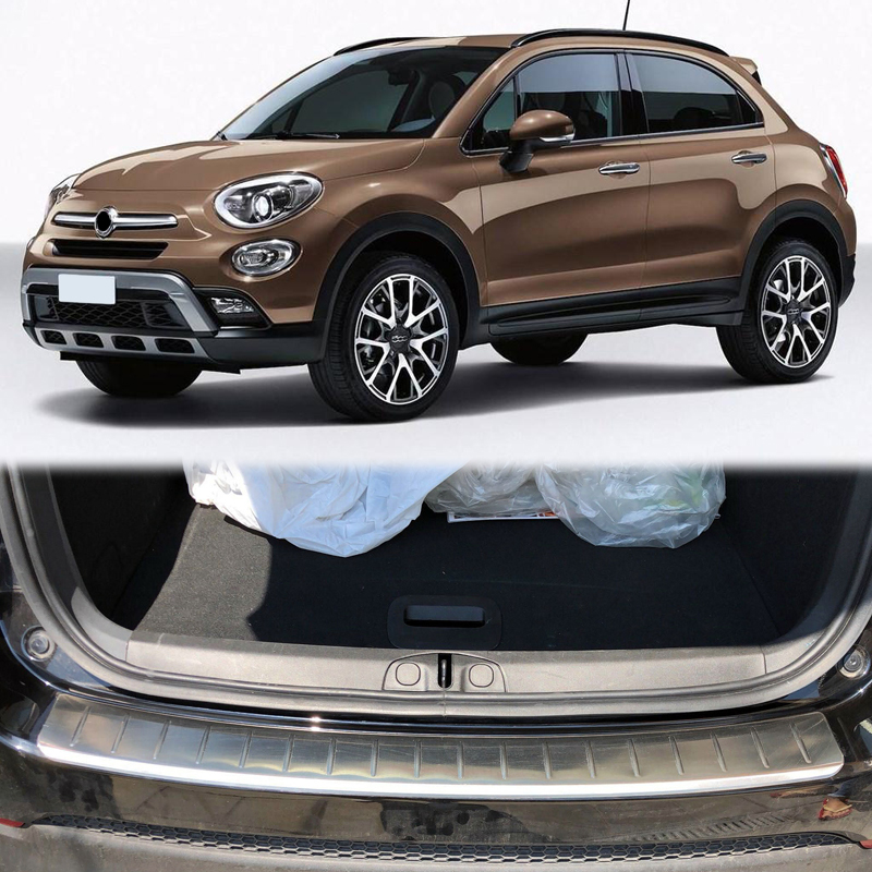 For Fiat 500X 2015 2016 2017 2018 Stainless Steel Outer