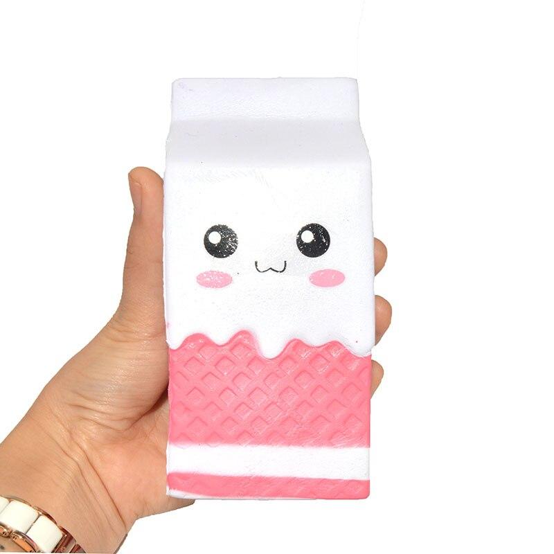 Squishy Di Asemka : 20 Pieces/lot 13CM Kawaii Jumbo Milk Squishy Hand Pillow Scented Kids Toys Heart Bread Wholesale ...