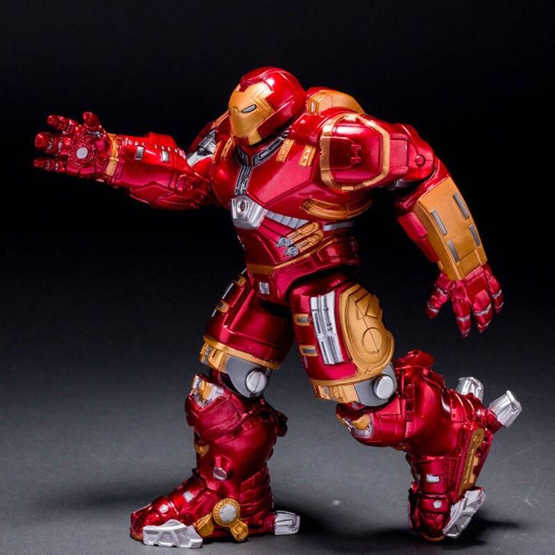 Marvel Avengers Ultron Iron Man Hulk Buster Collection Model Action Figures avengers hulk buster