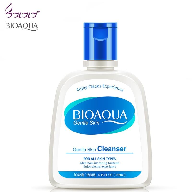 bioaqua Oil skin care moisture face Cleanser facial scrub for face cleaner exfoliating facial cleansing oil control shrink pores