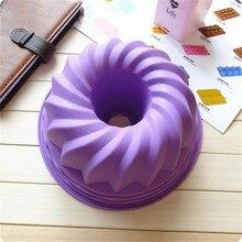 1 unidades 22.5*22.5*10 cm hornear pan diy creativo molde del pastel de moldes para hornear herramientas de la torta de silicona de pastelería molde de la torta