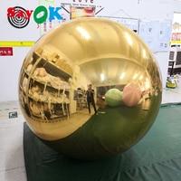 ПВХ надувной зеркальный шар, Надувное зеркало воздушные шары для вечеринок/шоу/коммерческие/рекламные украшения