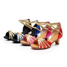 Brand New Latin font b Dance b font Shoes Low Heels Salsa font b Tango b
