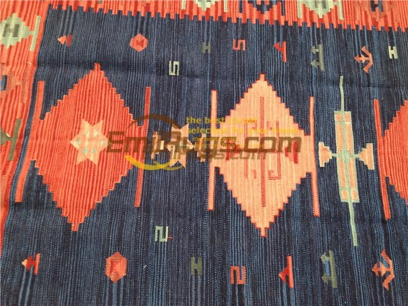 Ручная работа; вязаное; шерстяное Ковры Kilim гостиная ковер Bedroon прикроватные одеяло коридор Средиземноморский стиль 43bv1gc131kilimyg4