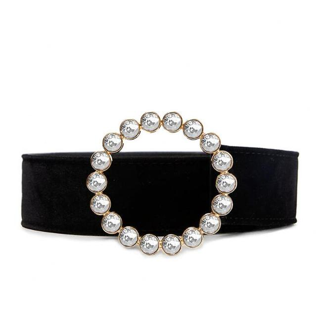 Women Pearls Beading ORing...