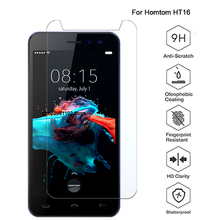 For Homtom HT16 Tempered Glass 9H 2.5D Premium Screen Protector Film F