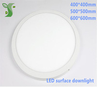 32W 36W 48W led round/square panel light 400*400mm 500*500mm 600*600mm surface down light AC85 265V with drier