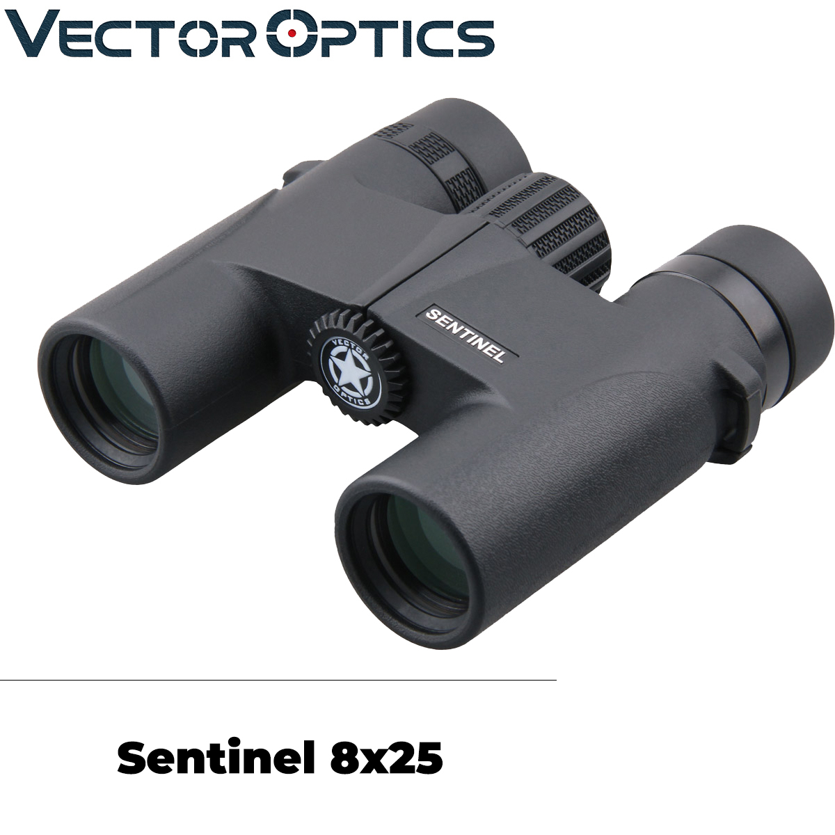 Vector Optics Sentinel 8x25 Water Proof Binoculars Prism Bak4 With FMC 7 Lens for Bird Watching Hunting Traveling Sightseeing image